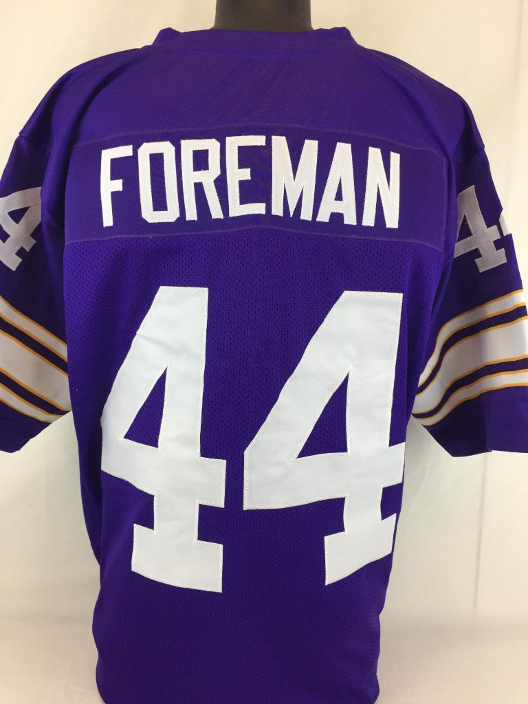 sports shoes 358be 48d5d Item Detail - Chuck Foreman Minnesota Vikings Custom Home ...