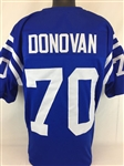 Art Donovan Baltimore Colts Custom Home Jersey Mens XL