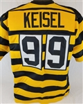 Brett Keisel Pittsburgh Steelers Custom Throwback Bumblebee Jersey Mens Large