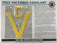 Willabee & Ward 1925 Victoria Cougars Patch NHL Hockey Official Jersey Patch