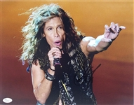 Steven Tyler Signed Aerosmith 11x14 Photo Authentic Autograph JSA #Q54516