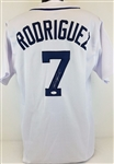 Ivan Pudge Rodriguez Detroit Tigers Signed White Jersey JSA Witness #WP222643