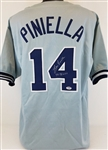 "Lou Piniella ""77-78 WSC"" New York New York Yankees Signed Jersey PSA/DNA #AB94457"