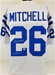 "Lydell Mitchell ""3X Pro-Bowl"" Baltimore Colts Signed White Jersey JSA Witness #WP802422"