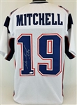 Malcolm Mitchell New England Patriots Signed White Jersey JSA Witness Autograph #WP458343