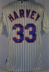 Matt Harvey Signed Majestic Cool Base New York Mets Jersey w/ MLB Hologram