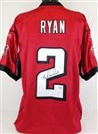Matt Ryan Signed Authentic Reebok On Field Atlanta Falcons Jersey Fanatics Hologram
