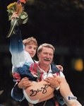 Bela Karolyi Signed Usa Gymnastics 8x10 Photo Autograph Beckett BAS #B90682