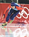 Bonnie Blair Signed Usa Olympics 8x10 Photo Authentic Autograph JSA #J04019