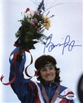 Bonnie Blair Signed Usa Speed Skating 8x10 Photo Authentic Autograph PSA #K19857