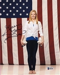Gracie Gold Signed Usa Olympic Figure Skating 8x10 Photo Beckett BAS #B22181