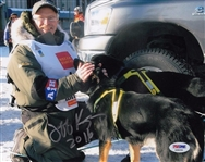 Jeff King Signed Iditarod 8x10 Photo Authentic Autograph PSA/DNA #AB80256