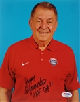 "Jerry Colangelo ""HOF 04"" Signed Usa Basketball 8x10 Photo PSA/DNA #AC34827"
