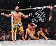 "Johny Hendricks ""Big Rigg"" Signed Ufc 8x10 Photo JSA Witness #W619259"
