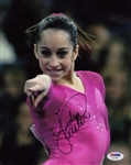 Jordyn Wieber Signed Usa Gymnastics 8x10 Photo Authentic Autograph PSA #AC11557