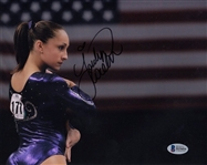 Jordyn Wieber Signed Usa Olympic Gymnastics 8x10 Photo Auto Beckett BAS #B19454
