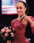 Jordyn Wieber Signed Usa Olympics Gymnastics 8x10 Photo Beckett BAS #B19416