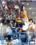 Olga Korbut Signed Olympics Gymnastics 8x10 Photo JSA Hologram & COA