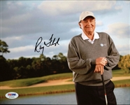 Ray Floyd Signed Pga Golf 8x10 Photo Authentic Autograph PSA/DNA #X70423