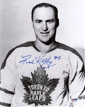 Red Kelly Signed Maple Leafs 8x10 Photo Authentic Autograph PSA/DNA #X81238