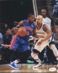 Rodney Stuckey Signed Pistons 8x10 Photo Authentic Autograph JSA Hologram 1