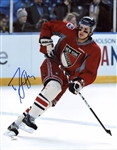 Michael Del Zotto Signed Rangers 11x14 Photo Authentic Autograph JSA #L79590