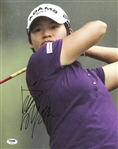 Yani Tseng Signed LPGA Golf 11x14 Photo Authentic Autograph PSA/DNA #U79708