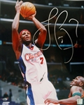Lamar Odom Signed Clippers 16x20 Photo Authentic Autograph PSA/DNA #J79044