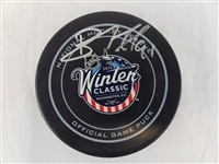 Brad Richards Signed Official NHL 2015 Winter Classic Game Puck PSA/DNA #AA26466