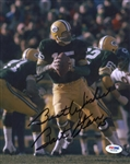Bart Starr Signed Packers 8x10 Photo Tristar COA and Steiner Hologram