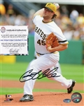 Gerrit Cole Pittsburgh Pirates Signed 8x10 Photo Schwartz Sports COA
