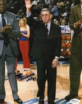 Lou Carnesecca St Johns Coach Inscribed HOF 98 Signed 8x10 Photo JSA Hologram