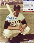 Monte Irvin HOF 73 Signed 8x10 Photo PSA COA