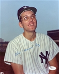 Phil Linz New York Yankees Signed 8x10 Photo JSA Hologram & COA