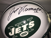 Joe Namath New York Jets Signed Full Size Proline Authentic Helmet UDA and Steiner COA