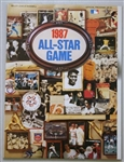 1987 Major League Baseball All Star Game Official Authentic Program