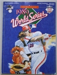 1989 MLB World Series Athletics Vs Giants Official Authentic Program