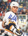 Adam Oates Blues Signed Magazine Page Photo Authentic Autograph PSA/DNA #U45465