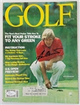 Ben Crenshaw Authentic Signed 1979 Golf Magazine Autographed JSA #Q10887
