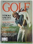Ben Crenshaw Authentic Signed 1980 Golf Magazine Autographed JSA #Q10886