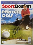 Kevin McHale Celtics Signed 1990 Sport Boston Golf Magazine JSA #Q10893
