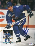 Owen Nolan Nordiques Signed Magazine Page Photo Autographed PSA/DNA #U45462
