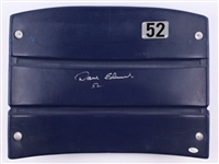 "Dave Edwards ""52"" Signed Cowboys Texas Stadium Seat Back JSA #WP387181"