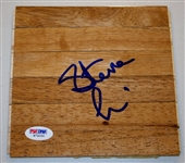 Steve Lavin St. Johns Signed 6x6 Floorboard Authentic Autograph PSA/DNA #W79056