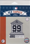 Aaron Judge New York Yankees Judgement Day MLB Licensed Collector Fan Patch
