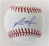 Matt Moore Giants Signed OML Baseball Autographed MLB Hologram & PSA/DNA #R19306
