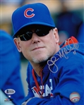 John Mallee Cubs Hitting Coach Signed 8x10 Photo Autographed Beckett BAS #I51320