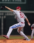 Michael Wacha Signed Cardinals 8x10 Photo Auto Autographed Beckett BAS #B60727