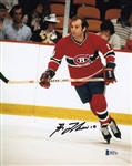 Guy Lafleur Signed Canadiens 8x10 Photo Authentic Autograph Beckett BAS #B95761