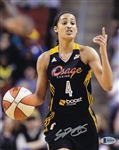 Skylar Diggins Signed Dallas Wings 8x10 Photo Autographed Beckett BAS #B65038